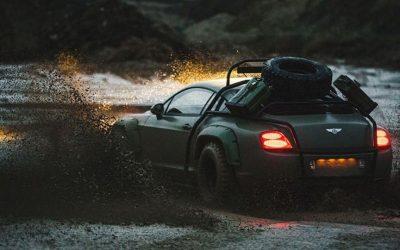 Bentley Continental GT de Rally?
